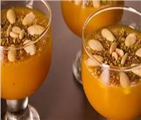 حلويات رمضان| أسهل طريقة لتحضير طبق «قمر الدين بالمكسرات»
