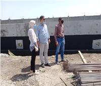 استمرار تنفيذ مشروعات حياة كريمة بقرية شطانوف في أشمون| صور