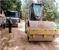 رصف الطريق الزراعي الشرقي «أسيوط سوهاج»