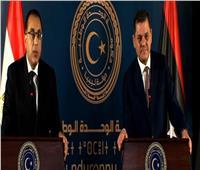 مدبولي: خط ملاحي بين موانئ مصر وليبيا.. واستقبال رحلات الطيران الليبية