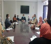 «صحة المنوفية» تناقش اشتراطات الزمالة المصرية بمستشفيات المحافظة