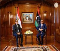 في بيان مشترك.. مصر وليبيا تتفقان على إنشاء قاعدة بيانات لمكافحة الإرهاب