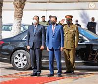 بيان مصري ليبي: الإسراع بخروج التشكيلات الأجنبية المسلحة من ليبيا