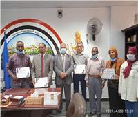 تكريم الفائزين فى مسابقة المشروع الوطنى للقراءة «المعلم المثقف» بأسوان