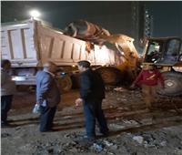 محافظ القليوبية: رفع ٤٨٠ طن من المخلفات بشارع بهتيم لتوفير بيئة صحية