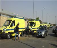 مصرع 3 أشخاص وإصابة 25 في حادث تصادم سيارتين بأسوان