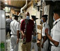 غلق 35 مقهى ومحلا تجاريا لعدم الالتزام بالإجراءات والمواعيد بالفيوم