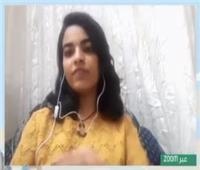 «ساندي».. فتاة مسيحية تقدم أغاني رمضانية بلغة الإشارة لتهنئة المسلمين |شاهد