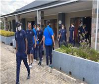 بيراميدز يصل ملعب ليفي موانواسا لمواجهة نكانا