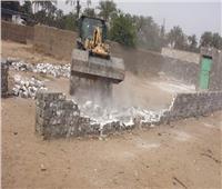 حملة لإزالة  التعديات على الأراضي الزراعية بمدن وقرى الشرقية