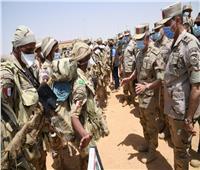 الفريق محمد فريد يشهد مشروع «إعصار62» الذى يجريه الجيش الثالث| صور