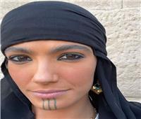 تارا عماد تظهر بالملابس الصعيدية في مسلسل «موسى»