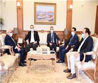 محافظ بورسعيد يستقبل رئيس هيئة الرعاية الصحية للتأمين الصحي الشامل