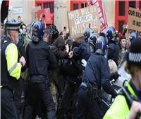 القبض على 40 متظاهرا ببرلين خلال تظاهرات مناهضة لقيود مكافحة كورونا