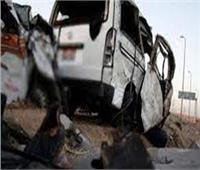 مصرع وإصابة 5 في حادث تصادم أمام قرية الجعافرة بأسوان