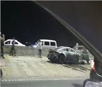 مصرع ٣ أشخاص وإصابة ٥ آخرين في حادث تصادم بالقاهرة الجديدة