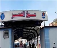 نائب محافظ بورسعيد يتابع بدء تشغيل «سوق العصر» في حي العرب