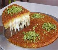 حلويات رمضان.. كنافة بالجبنة