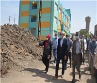 مواطن بشبين القناطر يتعدى على أرض مخصصة لإنشاء مدرسة