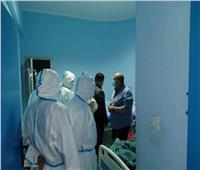 نائب محافظ الجيزة يتفقد مستشفى ٦ أكتوبر المركزي وزايد المركزي