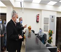 محافظ قنا يفتتح المركز التكنولوجي للخدمات التموينية بقرية الأشراف