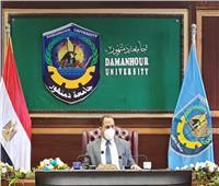 رئيس جامعة دمنهور : الجميع مصاب بكورونا حتى يثبت العكس