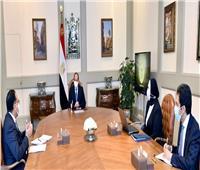 الرئيس السيسي يستعرض خطط تنمية المشروعات الصغيرة ومتناهية الصغر