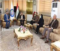 وزير العدل العراقي يبحث مع السفير المصري سبل تعزيز التعاون بين البلدين