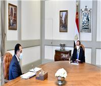 الرئيس السيسي يوجه بتسخير الإمكانات المصرية لدعم الأشقاء الليبيين