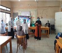 طالبات «تمريض الأزهر» يقودن حملات توعية للوقاية من فيروس «كورونا»