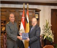 برتوكول تعاون بين جامعة القاهرة والهيئة الهندسية