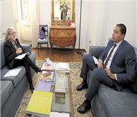 سفيرة البرتغال: مستعدون للمساعدة فى مفاوضات سد النهضة
