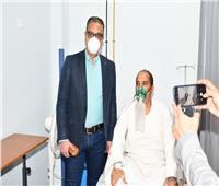 الأنصاري للأطقم الطبية: التطعيم ضد كورونا ضرورة للوقاية من الفيروس  صور