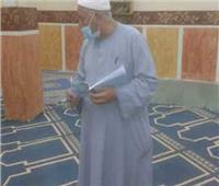 وكيل «أوقاف المنيا» يفاجئ المساجد خلال «صلاة الفجر»