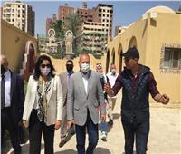 نائبا وزير السياحة ومحافظ القاهرة يتفقدان أعمال تطوير شجرة مريم