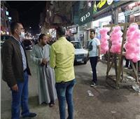 رفع 10 أطنان قمامة من شوارع المنوفية