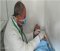 توقيع الكشف الطبي على 1472 مواطنًا في الساداتبالبحيرة