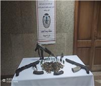 ضبط تاجر أسلحة بأسيوط وبحوزته 5 قطع سلاح آلية وذخائر