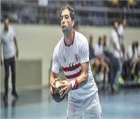 أحمد الأحمر نجم يد الأبيض: لاعبو الزمالك تحملوا الصعاب من أجل الفوز بالدورى