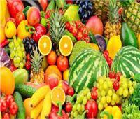 أسعار الفاكهة في سوق العبور خلال شهر رمضان المبارك