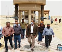 بدء تشغيل محطة معالجة الصرف الصحي بالمنيا الجديدة لري المساحات الخضراء