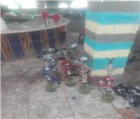 مصادرة 250 شيشة وتحرير 15 محضر للمقاهي المخالفة لاحترازات كورونا بالقليوبية