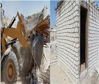 إسترداد 4385 متر مربع في حملات إزالة للإشغالات بالاسماعيلية