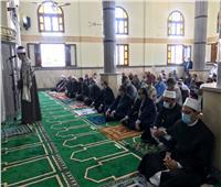 محافظ شمال سيناء يفتتح مسجد الشهيد محمد شراب بالعريش
