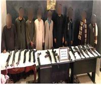 «الأمن العام» يضبط 18 متهمًا بـ20 سلاحًا ناريًا بأسيوط