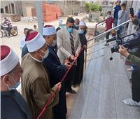 افتتاح مسجد العطيوي بمديرية أوقاف الدقهلية