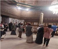 توافد المصريين والأجانب على قبة ضريح الإمام الشافعي | صور
