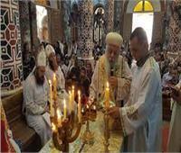 «الأنبا باسيليوس» يترأس صلاة القنديل العام وقداس جمعة ختام الصوم بكنيسة بردنوها
