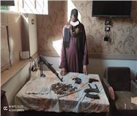 خلال أسبوع إدارة الأسلحة والذخائر تنجح في ضبط ٣ تُجار أسلحة بقرى أسيوط