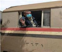 يقظة سائق قطار «فاقوس» تنقذ حياة ركاب القطار من الموت   صور